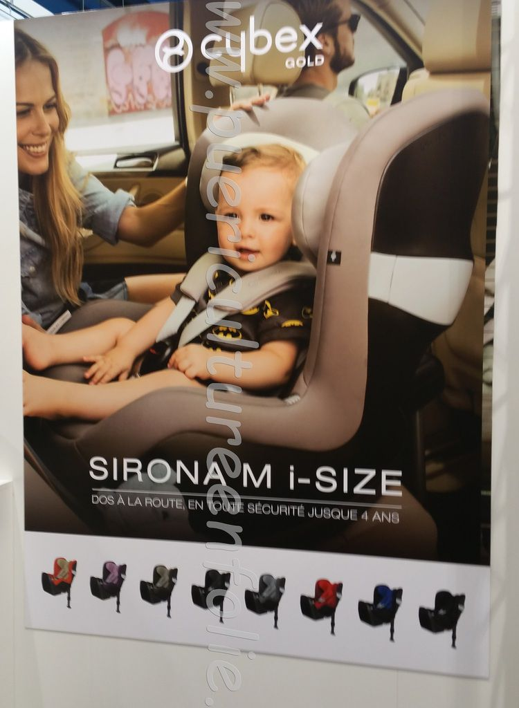 AFFICHE CYBEX SIRONA M ISIZE