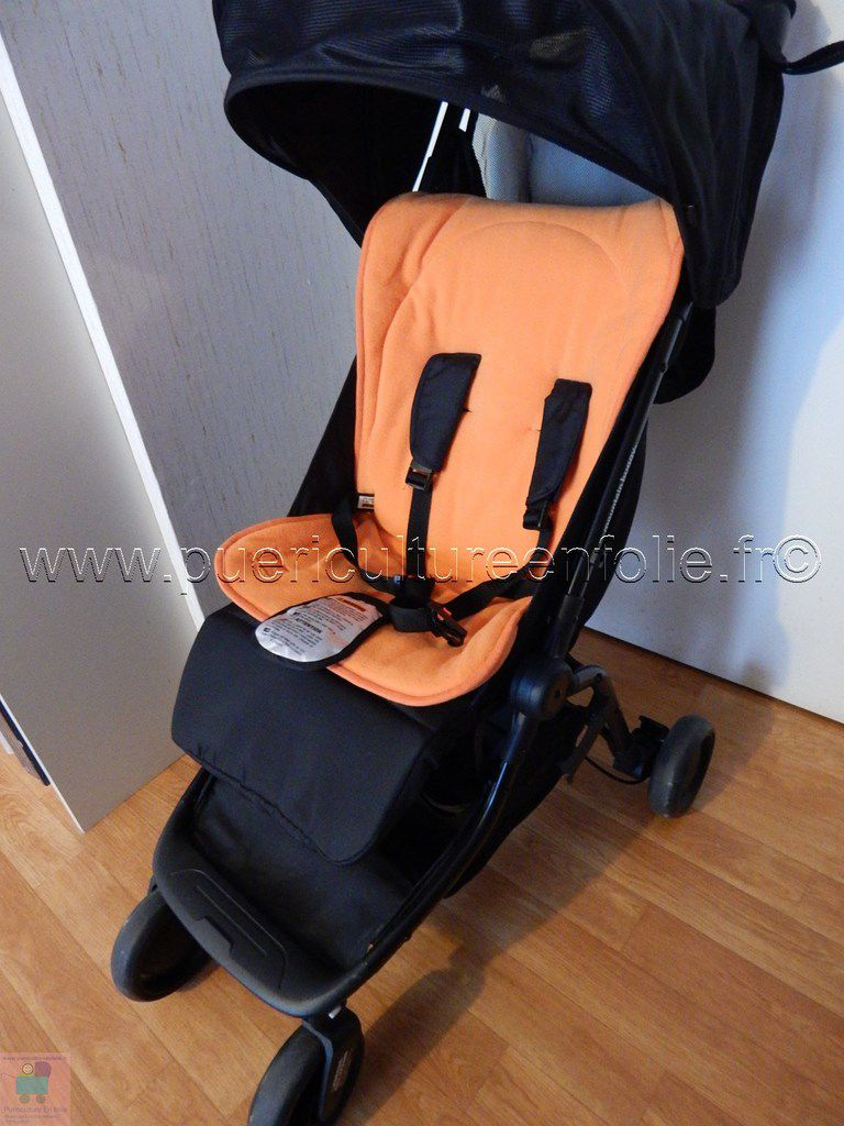 ESSAI AVEC ASSISE REDCASTLE WHIZZ => plus confortable