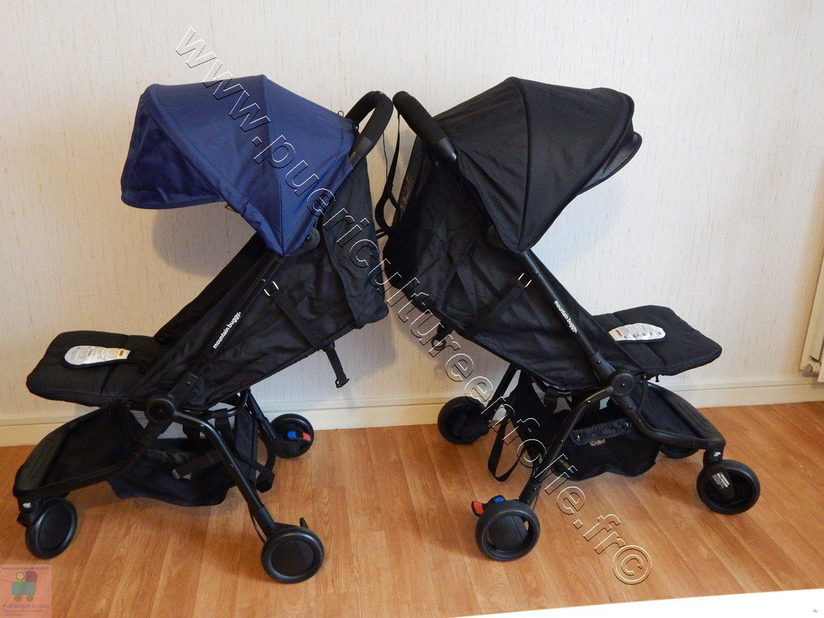 COMPARATIF POUSSETTE MOUNTAIN BUGGY NANO