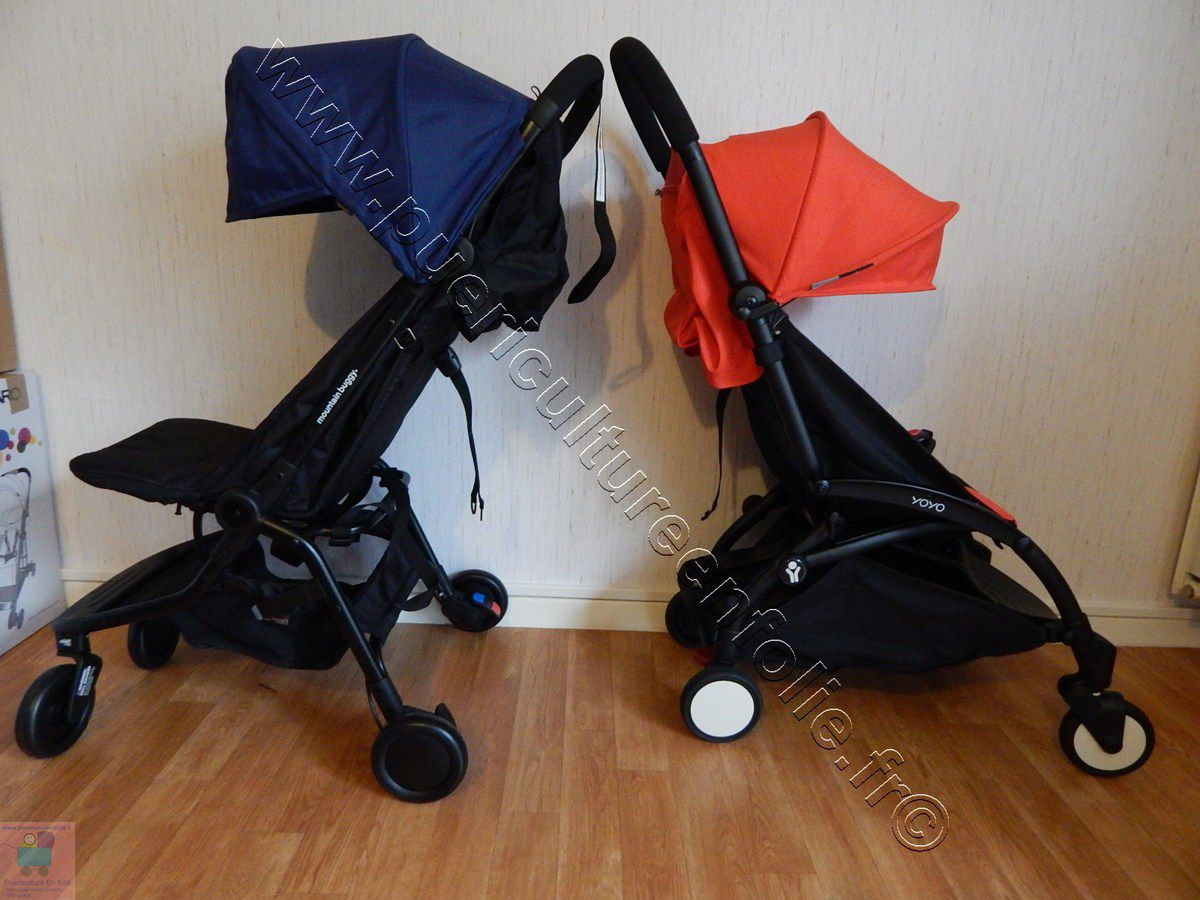 comparatif poussettes babyzen yoyo et moutain buggy nano v2 puericulture en folie. Black Bedroom Furniture Sets. Home Design Ideas