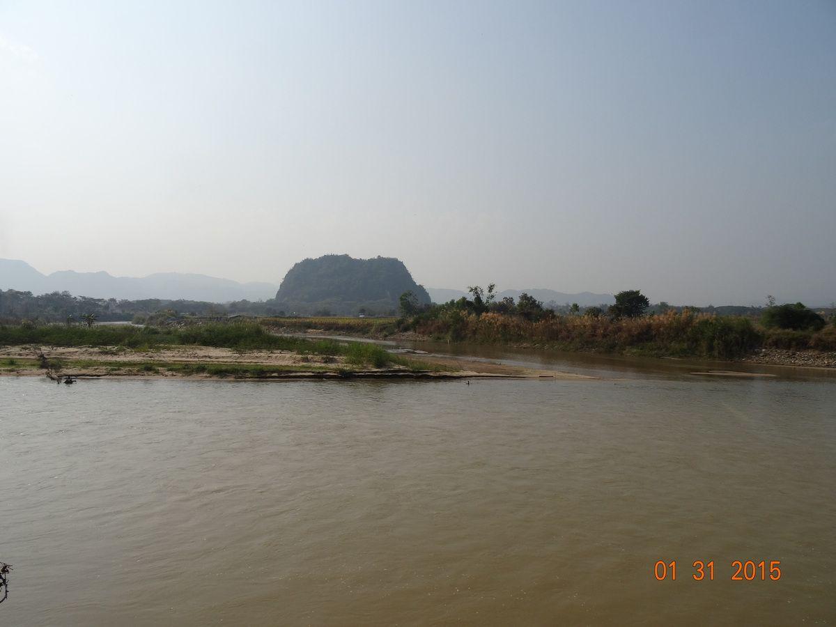 Chiang Rai, courte escale, avant le Laos