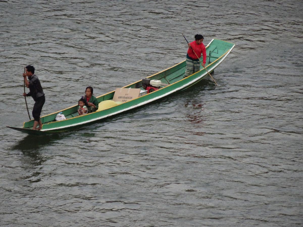 La rivière Nam Ou et Muang Ngoi
