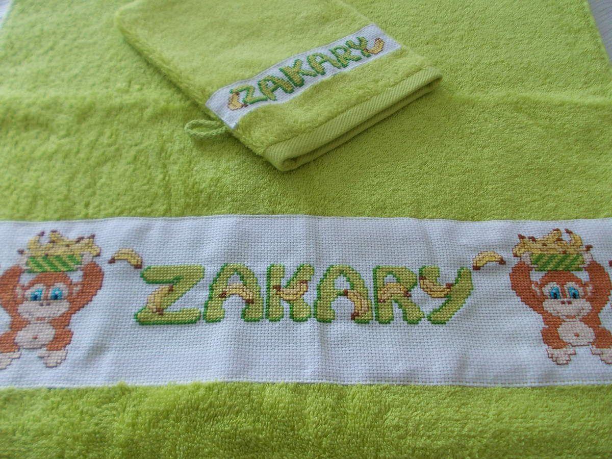 serviette Zakary singe