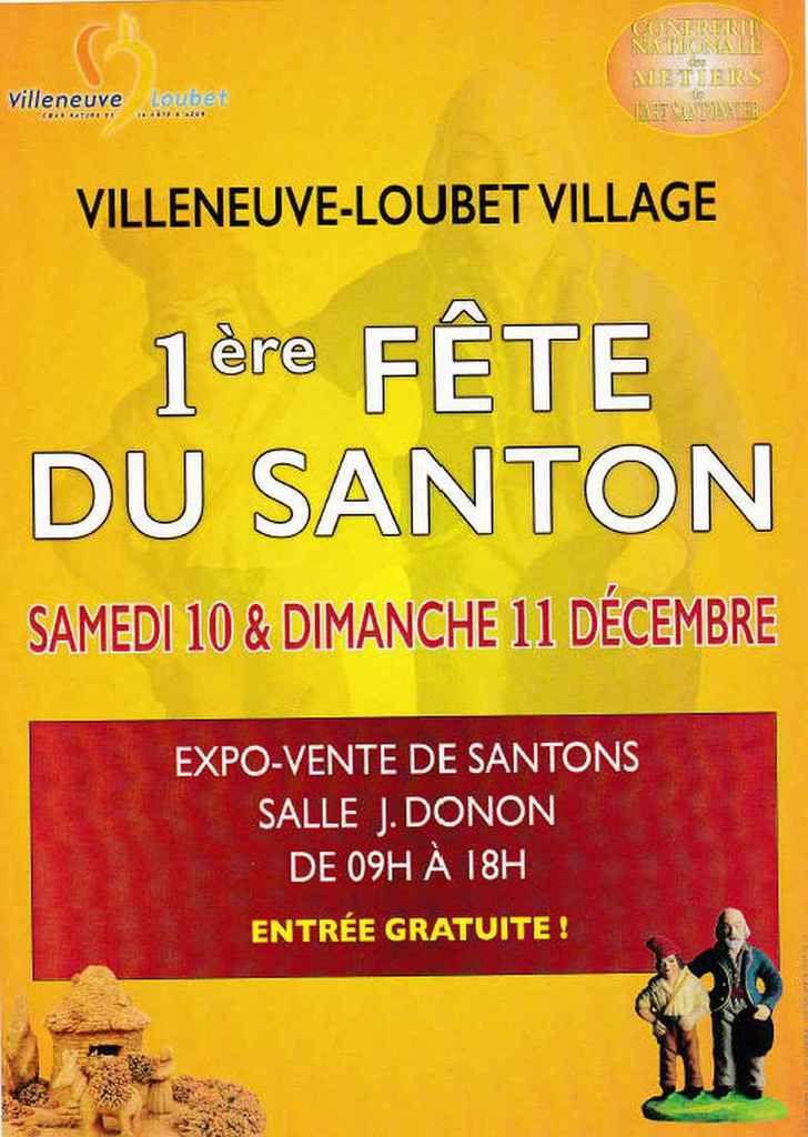 Villeneuve-Loubet, foire aux santons des 10 et 11 Décembre