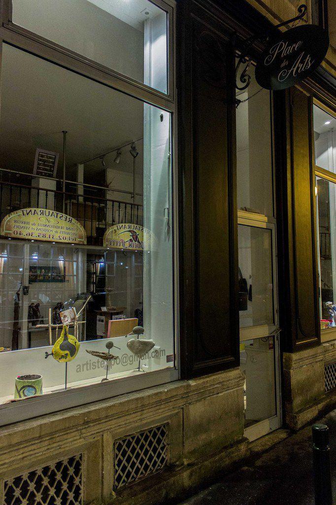 Vernissage Galerie place des arts, photos