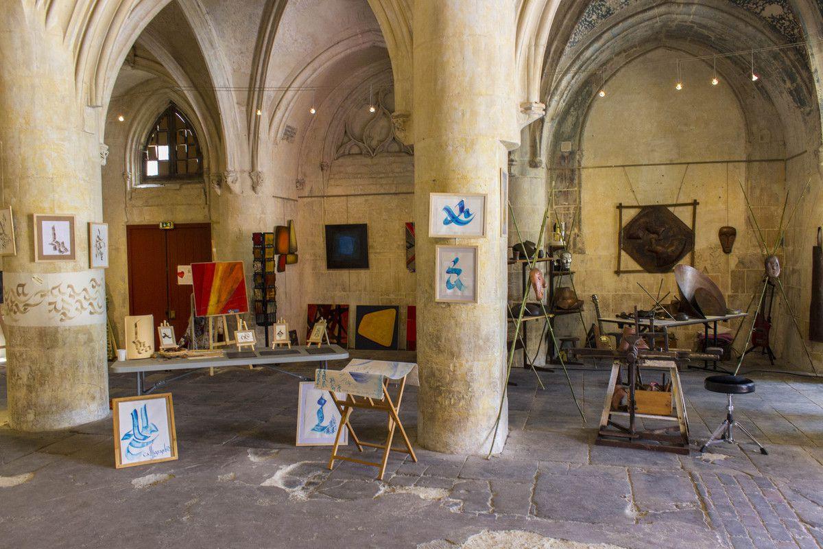 Exposition église Saint-Sauveur Caen