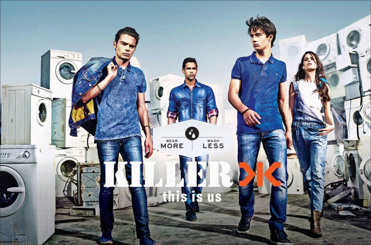 Making off de la campagne 2014 pour Killer Jeans : &quot&#x3B;This is us&quot&#x3B;