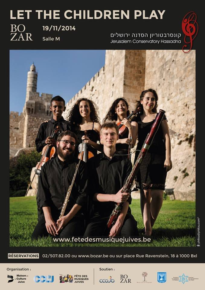 The Jerusalem Conservatory Hassadna in concert in Brussels