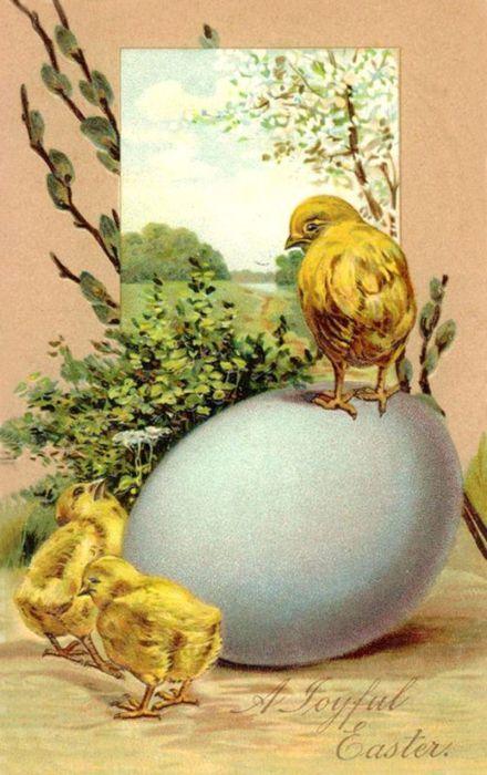 Transfert sur le thème de  Pâques