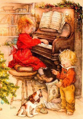 Transfert sur le thème de Noël et Nouvel An