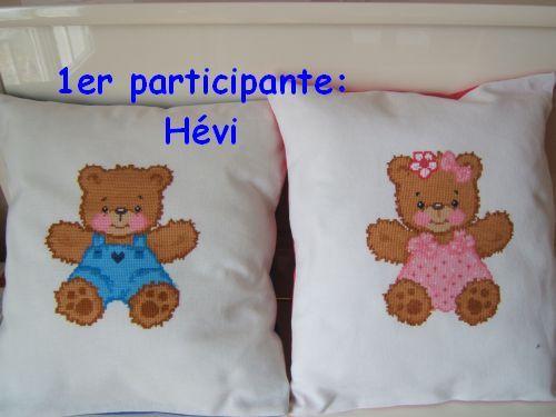 1ere participante : Hévi