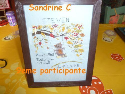 9eme participante: Sandrine C.