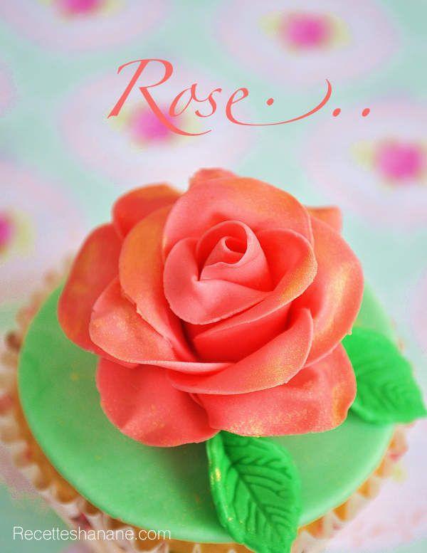 Souvent Tutoriel Rose en pâte à sucre - Recettes by Hanane RP54