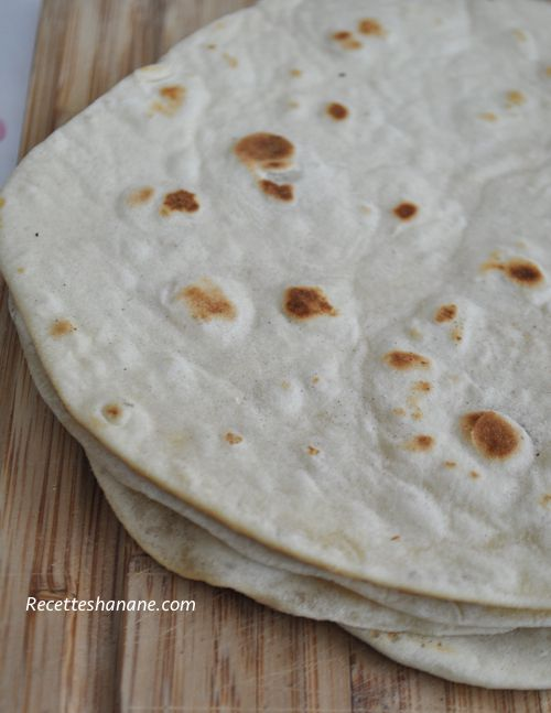 galettes tortillas de farine de bl recettes by hanane. Black Bedroom Furniture Sets. Home Design Ideas