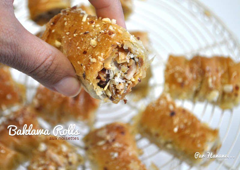 Baklawa Rolls - recette en vidéo