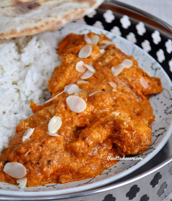 Butter Chicken - recette Indienne