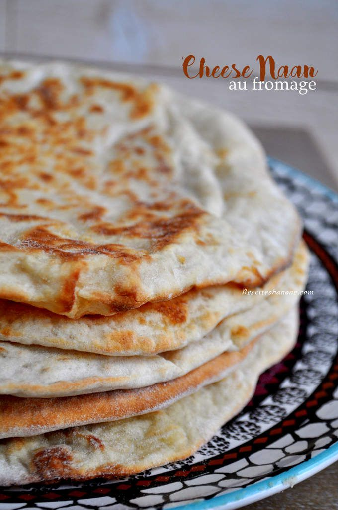cheese naan au fromage la recette recettes by hanane. Black Bedroom Furniture Sets. Home Design Ideas