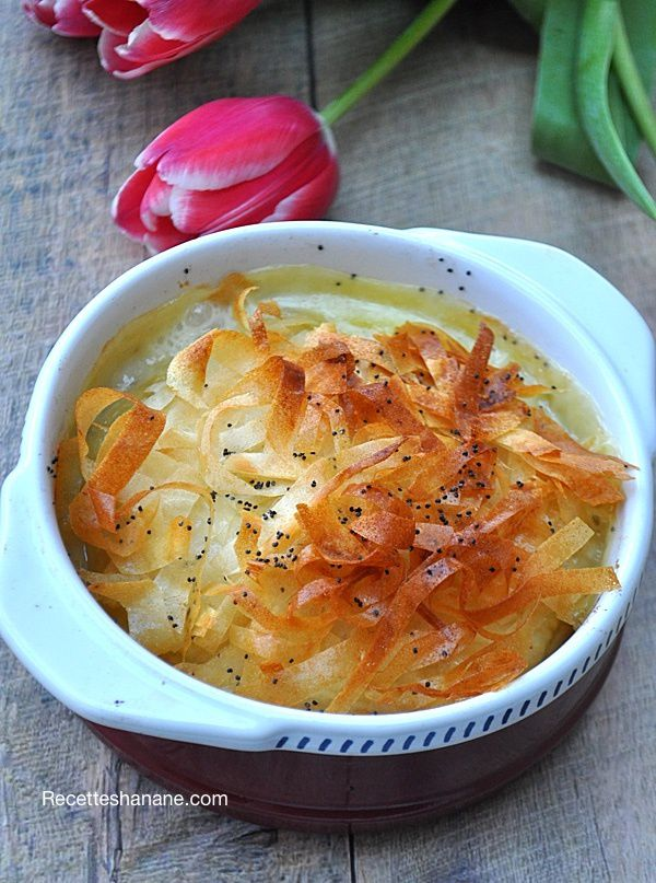 Feuilleté au Camembert façon Pastilla