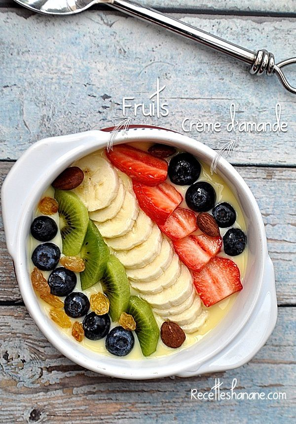 Healthy BOWL (version dessert)