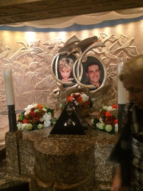 Harrods: Princess Diana/Dodi Fayed Memorial
