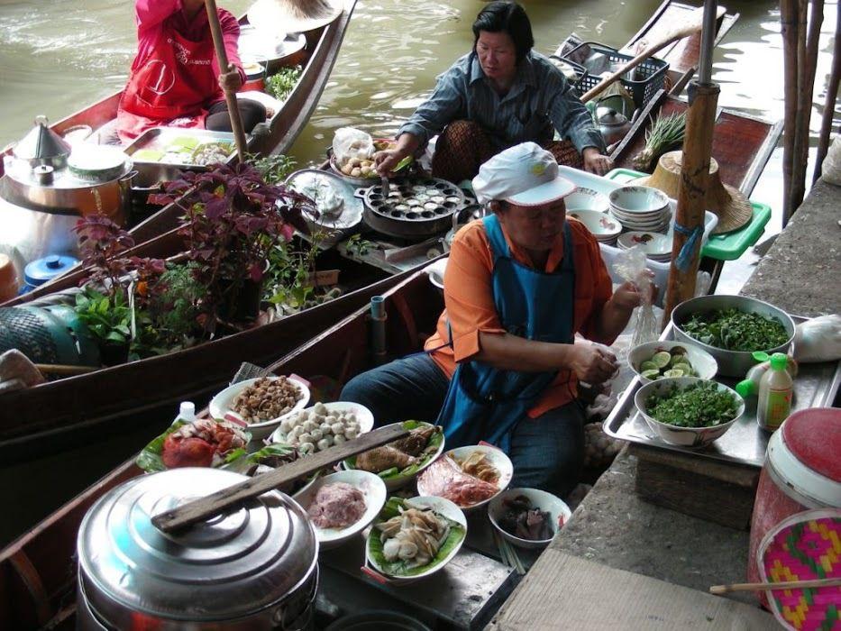 les restaurants flottants de Bangkok