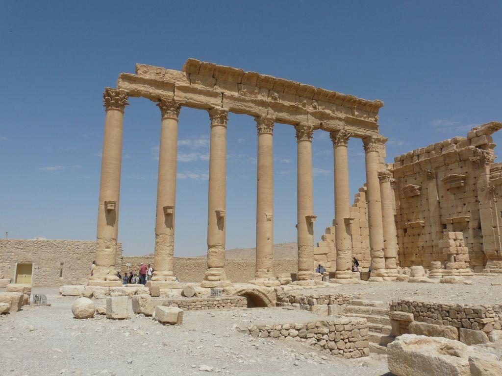Palmyre et ses colonnes