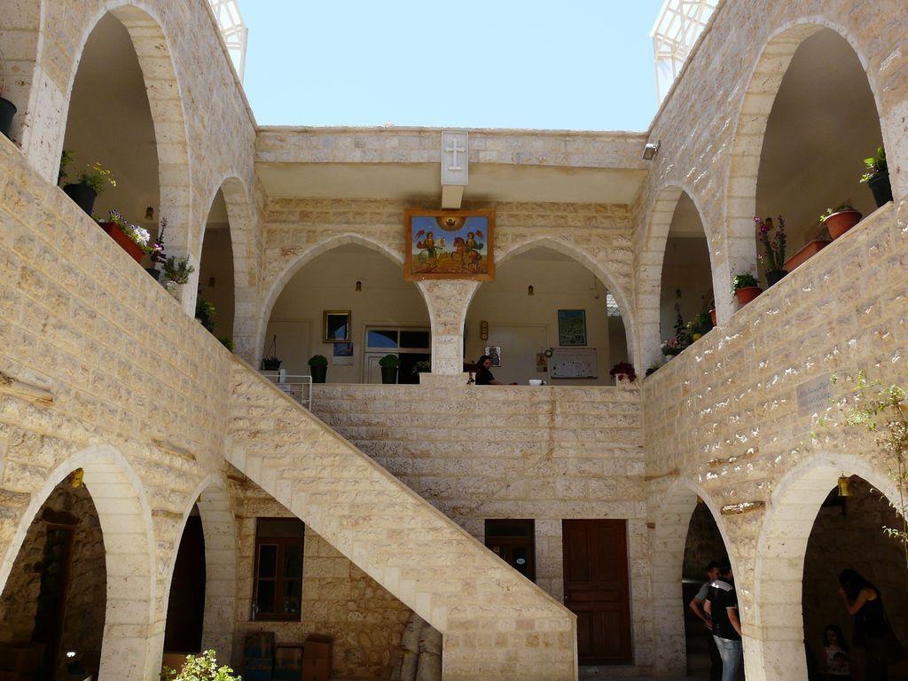 Le couvent de St Thècle