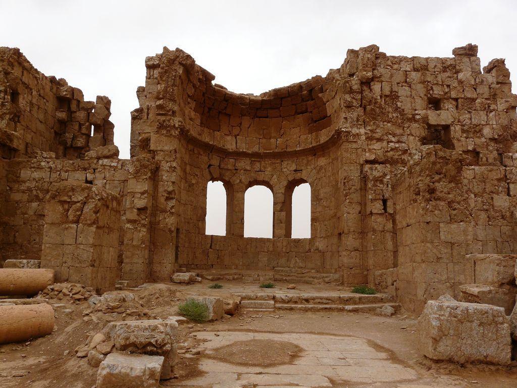 La ville fortifiée de Rassafé