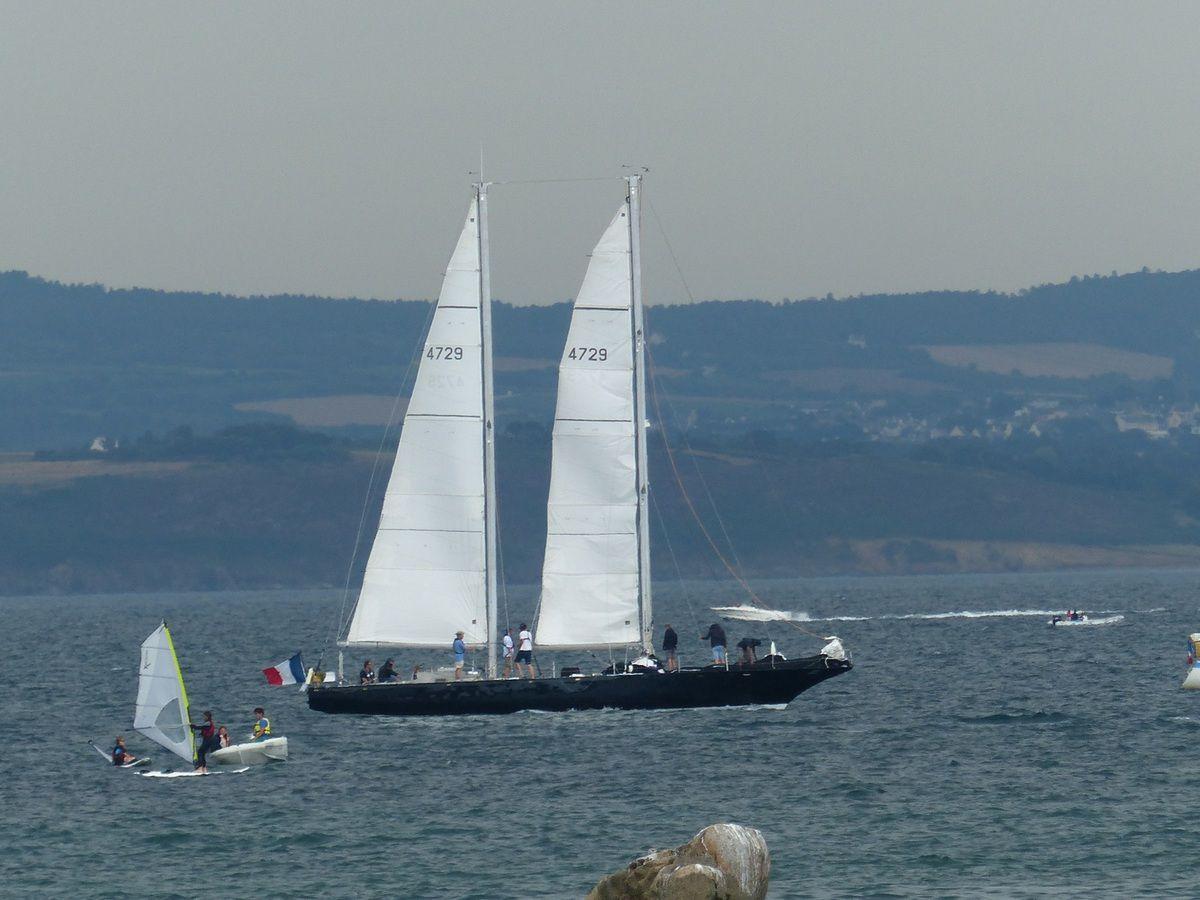 Douarnenez&#x3B; grands voiliers