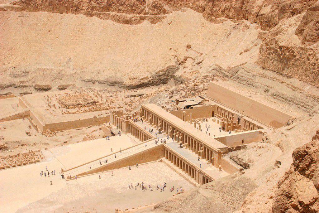 Le temple d'Hatchepsout à Deir el Bahari