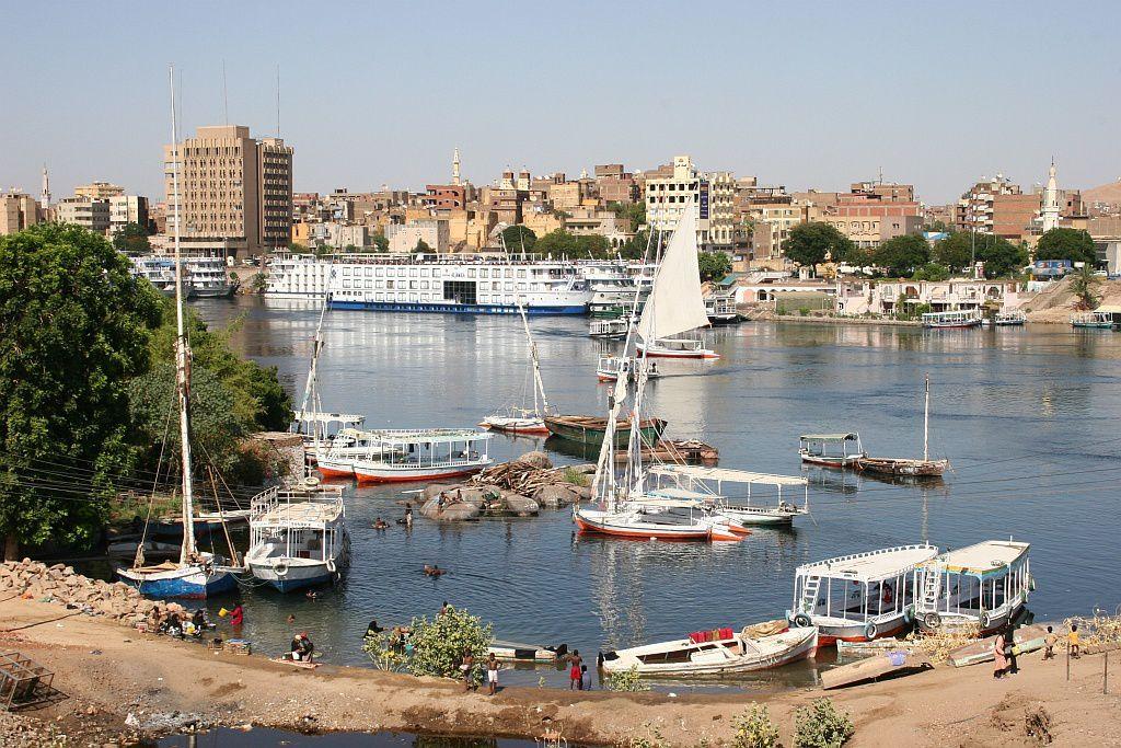 Petit port de pêche sumite sur le Nil
