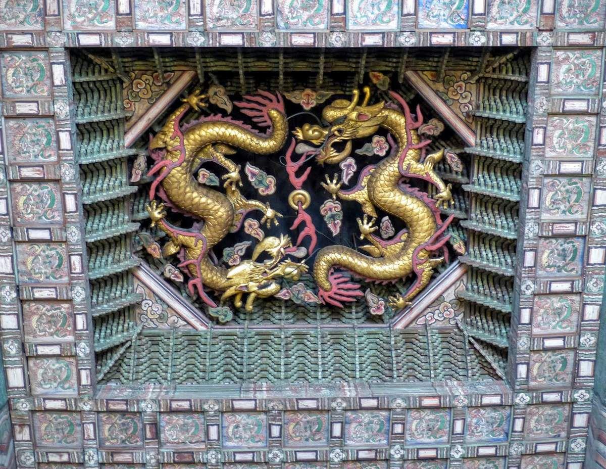 le palais Deoksugung ou palais de la longévité vertueuse