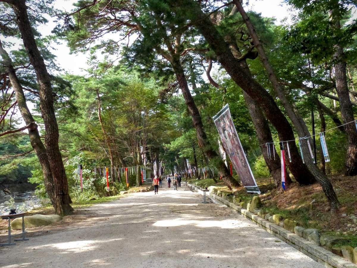 Busan&#x3B; le temple bouddhiste de Beomeosa