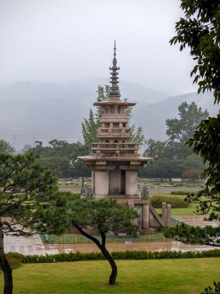 une des trois pagodes que l'on peut voir sur le site