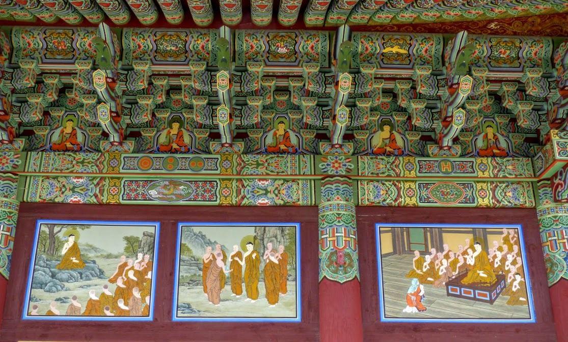 Le temple Haeinsa de la secte zen, près de Daegu, à Hapcheon&#x3B; de superbes décors&#x3B;