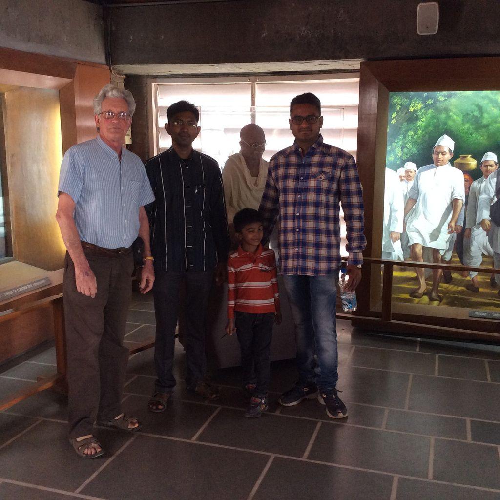 L'ashram de Gandhi
