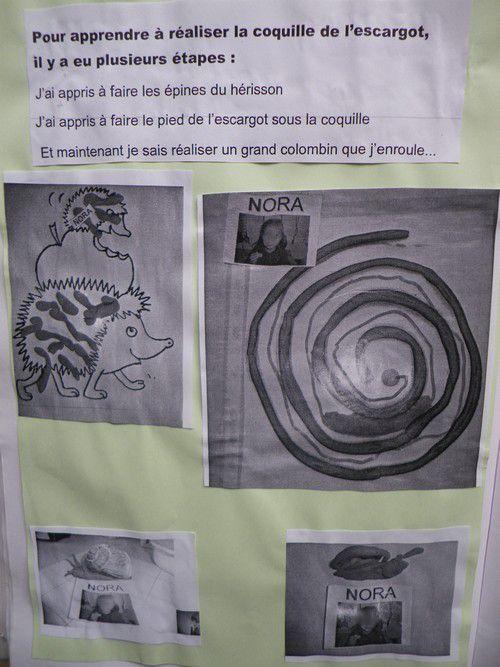 Les escargots chez Sylvie G
