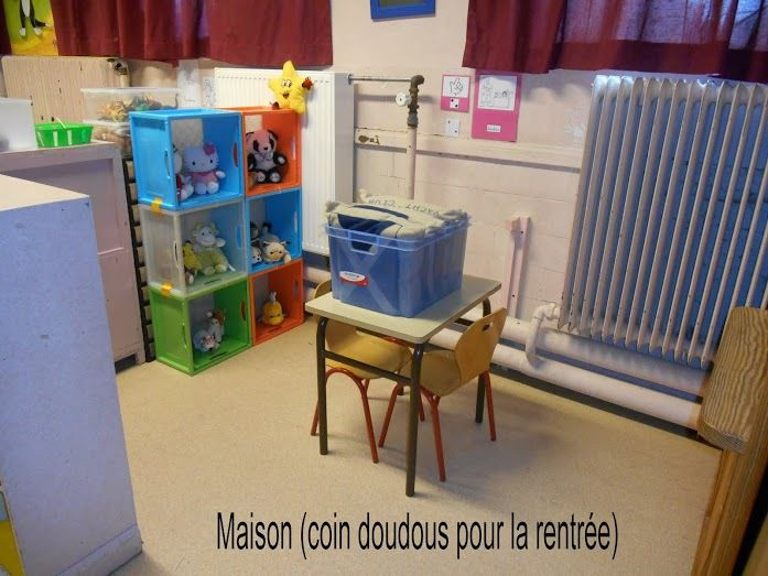 Am nagement de la classe chez lau cole petite section - Amenagement classe maternelle ...