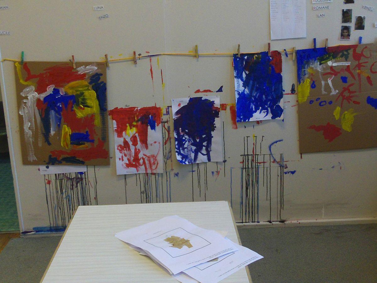 Atelier peinture chez Yobrego