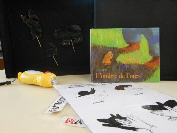 Sac à album L'ombre de l'ours chez Séverine de Pau