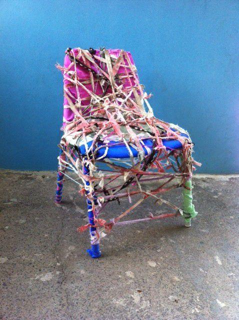 Chaise façon Christo chez Mempakap