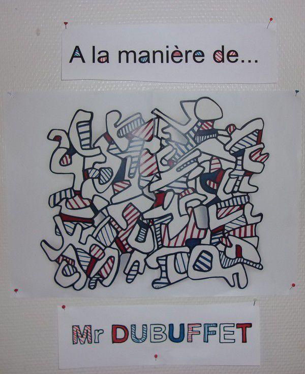 Dubuffet chez Monique