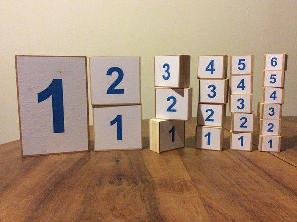 Cubes du jeu 1,2,3 Banquise chez SylT