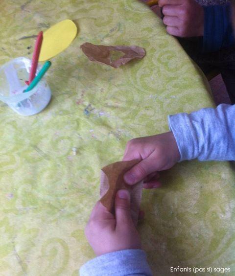 Bricolage de Pâques chez Sophie (pas si) sage