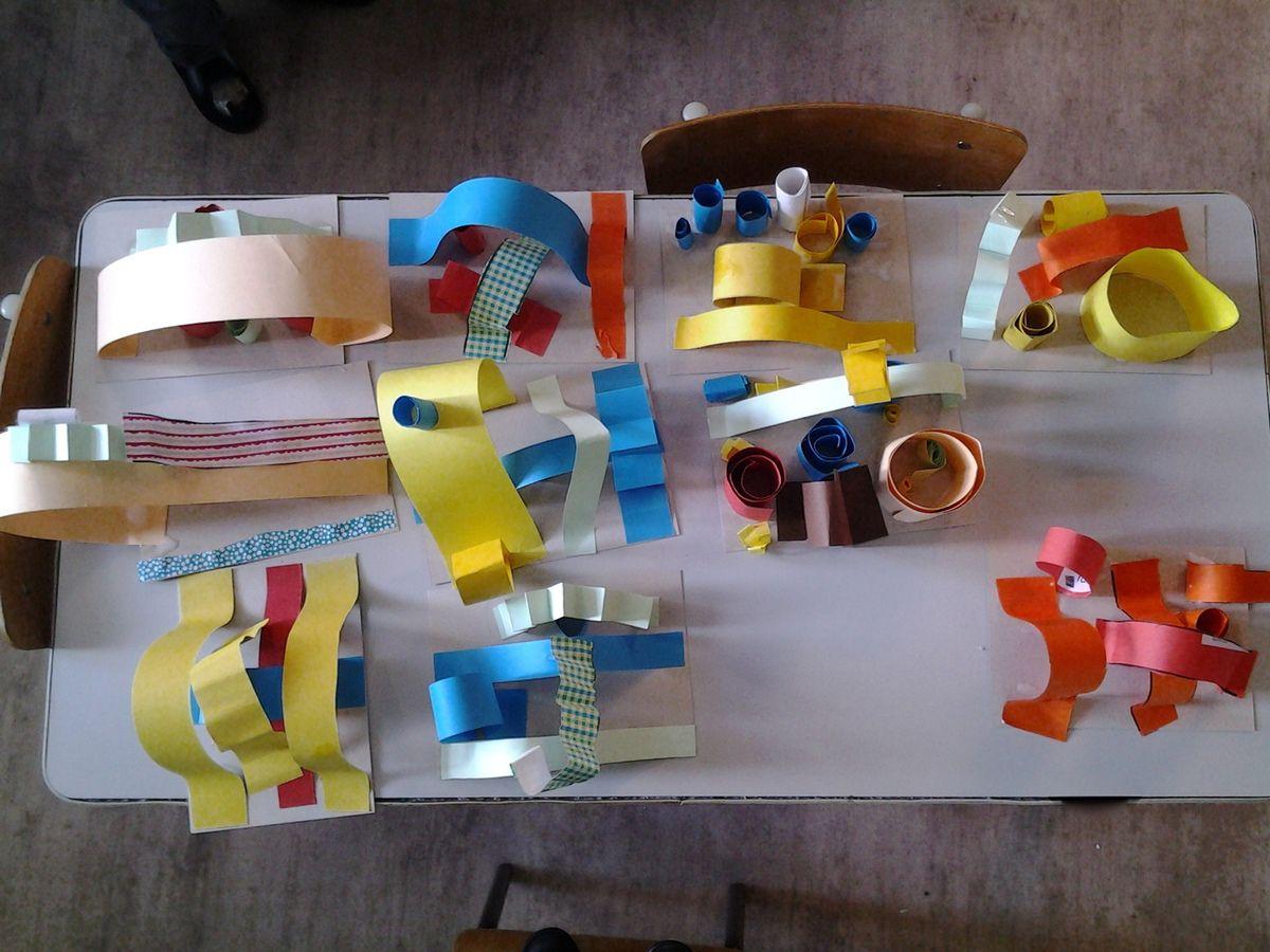 sculptures en papier chez julia cole petite section. Black Bedroom Furniture Sets. Home Design Ideas