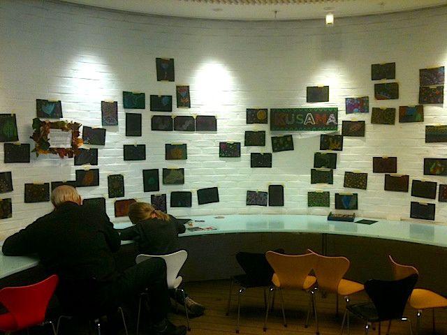 Kusama à Copenhague: mes photos