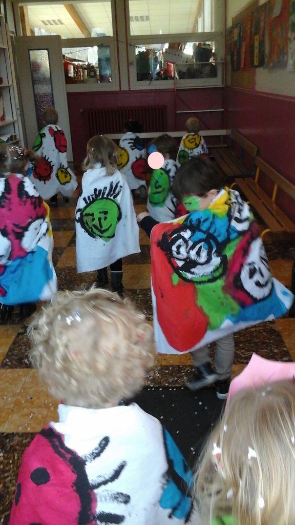 Carnaval super héros chez Ingrid