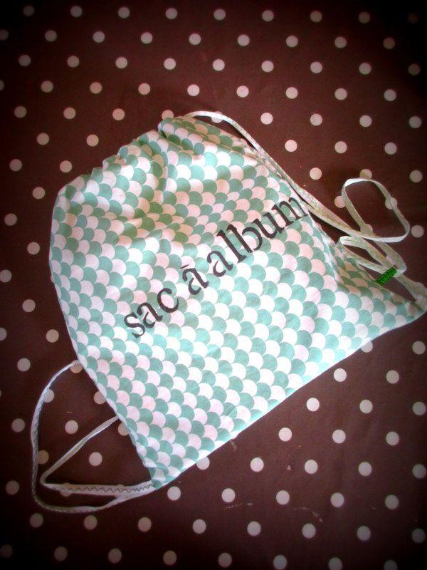 Des sacs à album chez Agnés