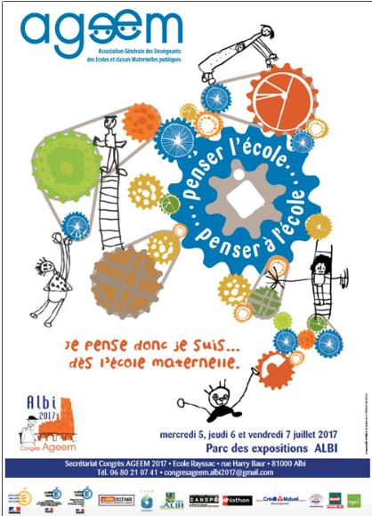 Penser ensemble le congrès AGEEM 2017 d'Albi par Elodie