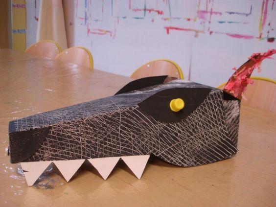 Un chapeau loup trouvé sur Pinterest par Karine K2